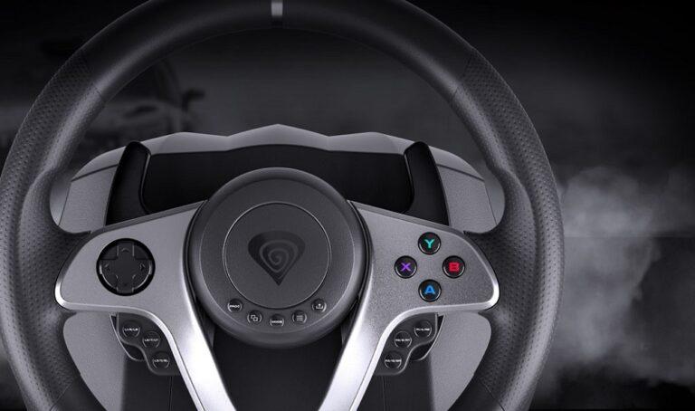 Genesis zaprezentowało nową kierownicę dla graczy Seaborg 400