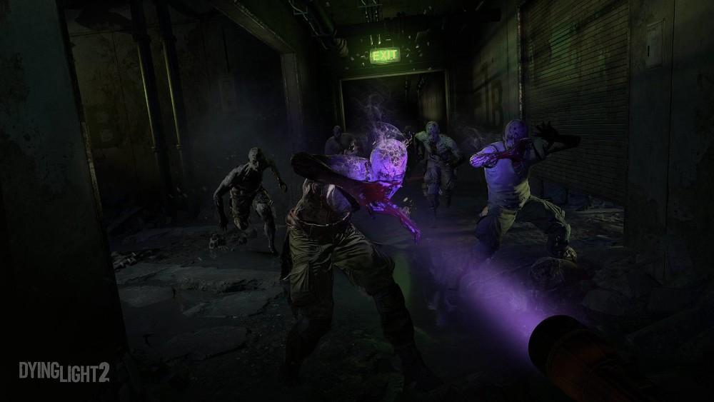 Demonstracja działania latarki UV w Dying Light 2