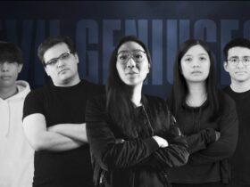 Zdjęcie członków składu Evil Geniuses w Valorant