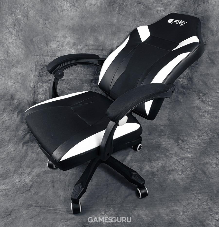 Krzesło w pozycji maksymalnie rozłożonej