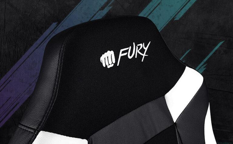 Grafika ukazująca zagłówek fotela Fury Avenger