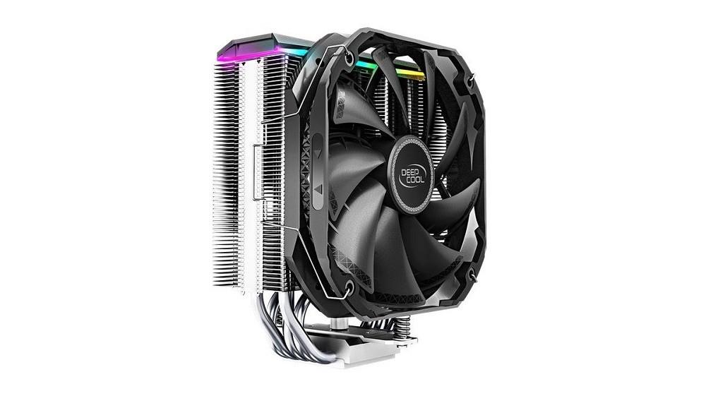 Chłodzenie CPU Deepcool AS500 od przodu
