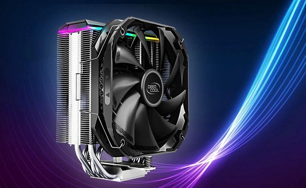 Grafika promocyjna chłodzenia CPU Deepcool AS500