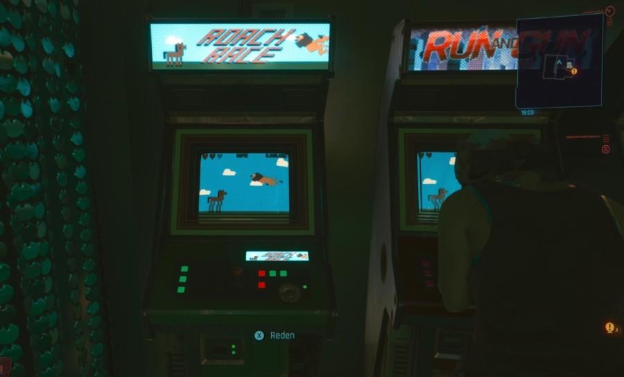 Automat z Roach Race