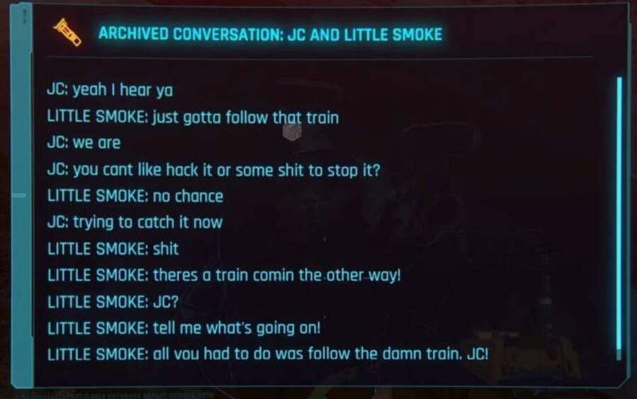 Rozmowa CJ-a i Big Smoke'a z GTA: San Andreas