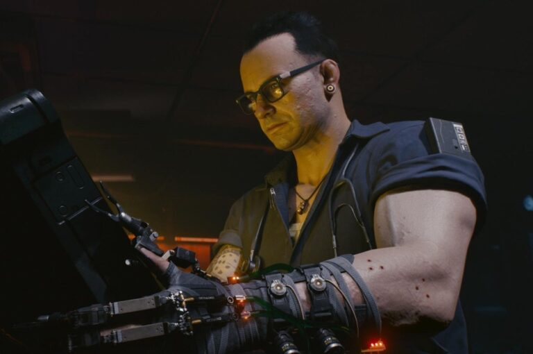 Ripperdoc z Cyberpunka