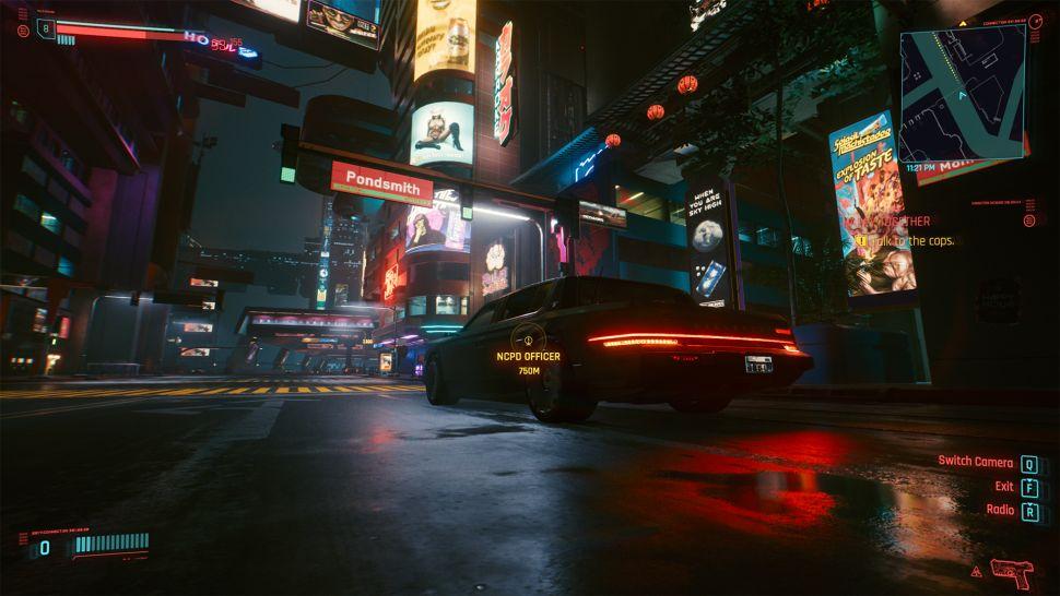 Ulica Pondsmitha w Cyberpunku
