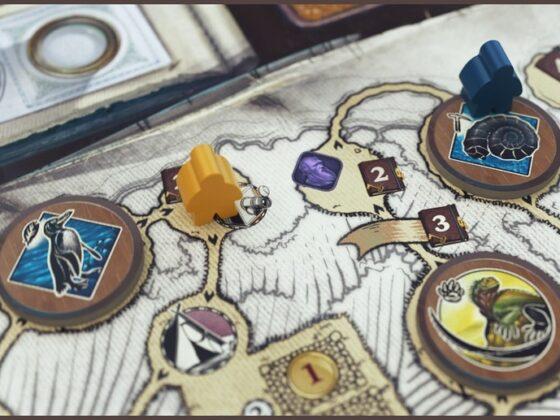 Gra planszowa Darwin's Journey od ThunderGryph Games