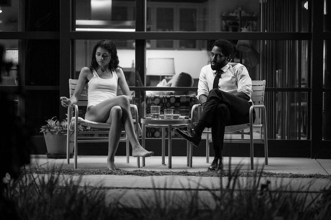 Zendaya i John David Washington w filmie Malcolm i Marie
