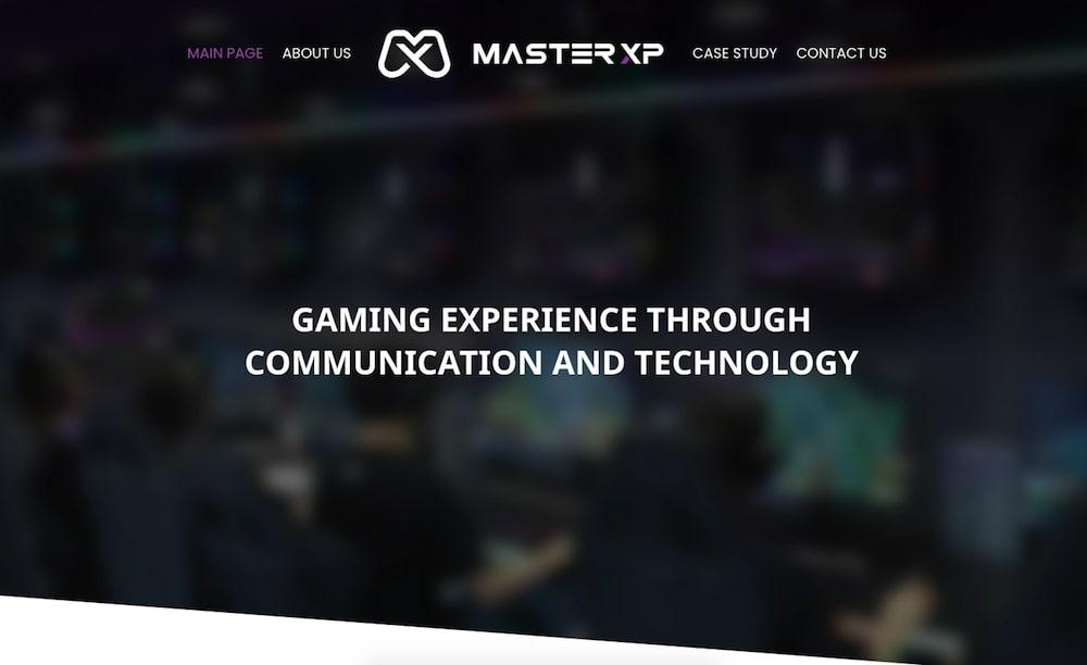 Strona internetowa marki Master XP