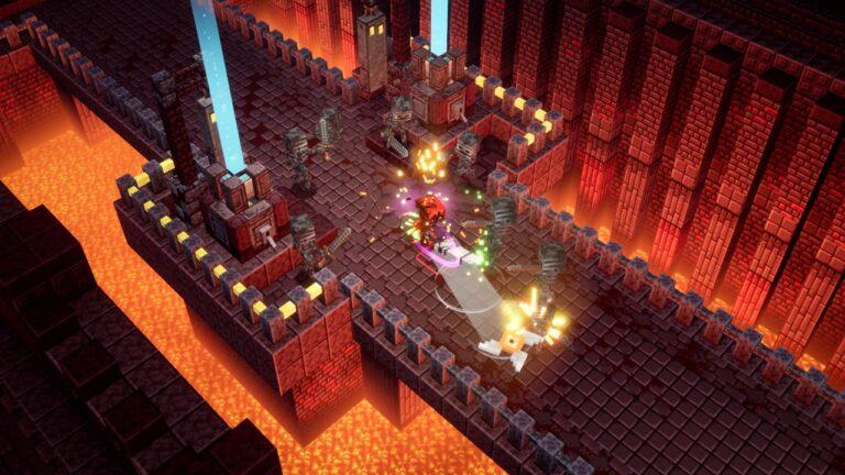 Forteca Netherytowa w Minecraft Dungeons
