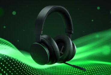 Poglądowe zdjęcie bezprzewodowych słuchawek Xbox