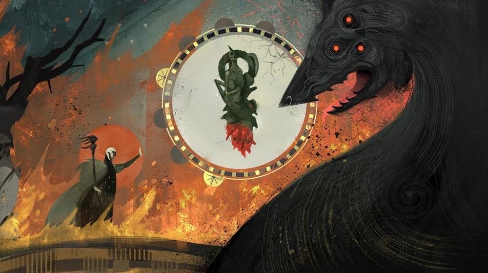 Grafika promująca Dragon Age 4 na The Game Awards 2018