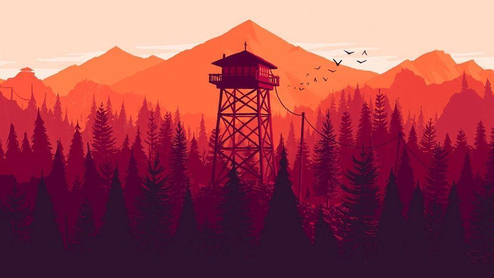 Wieża obserwacyjna z Firewatcha