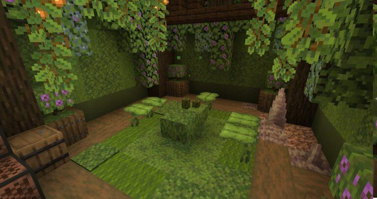 Nowa roślinność ze Snapshota 21w05a do Minecraft 1.17