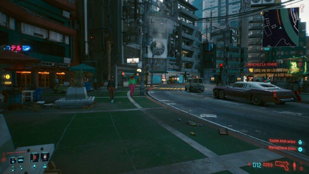 Ulice Night City