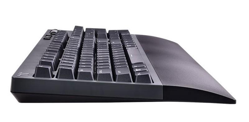 Bok klawiatury i jej profil