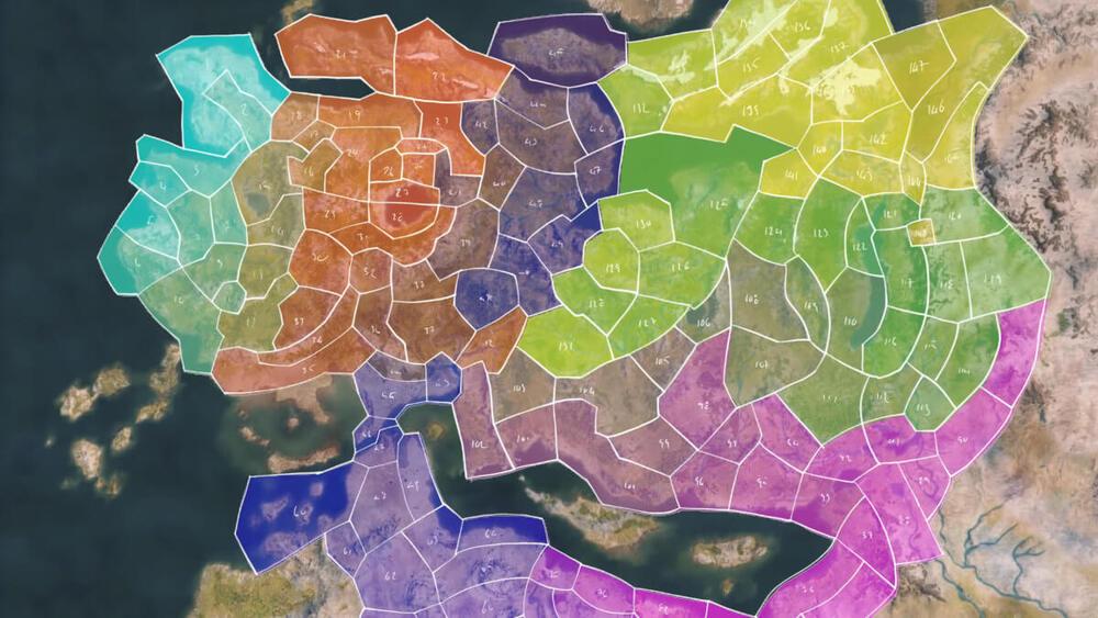 Nowy podział mapy świata w Mount & Blade 2: Bannerlord