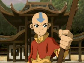 Główny bohater serialu Awatar: Legenda Aanga