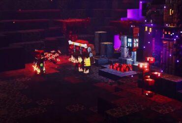 Nowy kupiec Piglin - Minecraft Dungeons