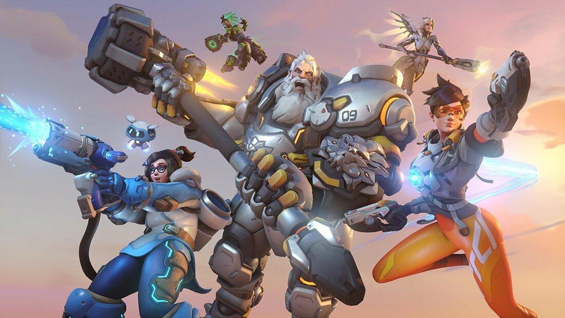 Bohaterowie z Overwatcha od Blizzarda