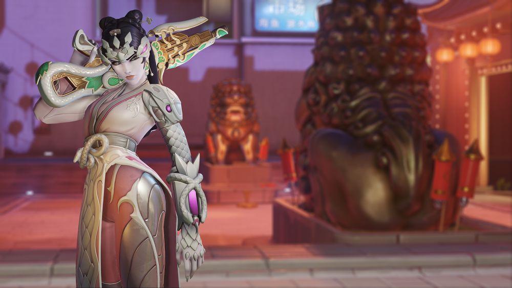 Nowa skórka dla Trupiej Wdowy z okazji eventu w Overwatchu