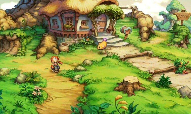 Legend of Mana lokacja w grze