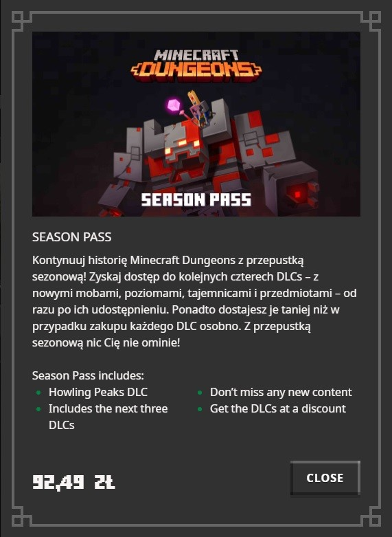Flames of the Nether – nowe DLC dla Minecraft: Dungeons
