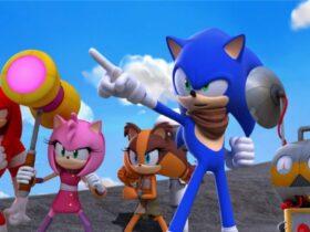 Grupa bohaterów z Team Sonic