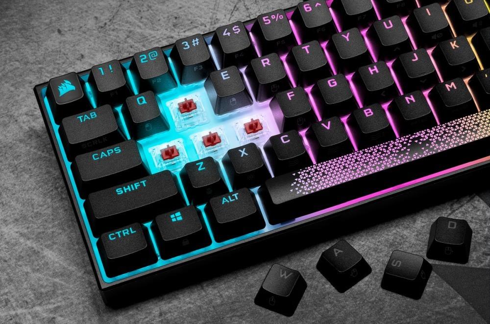 Podświetlenie i przełączniki klawiatury