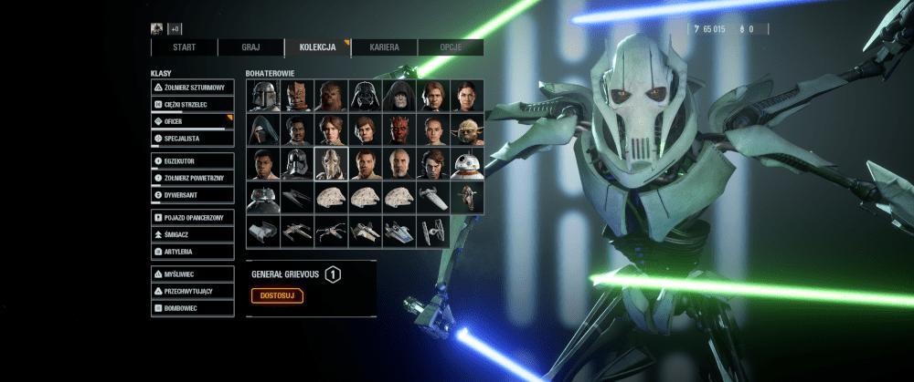 Postać generała Grievousa w grze Star Wars Battlefront II