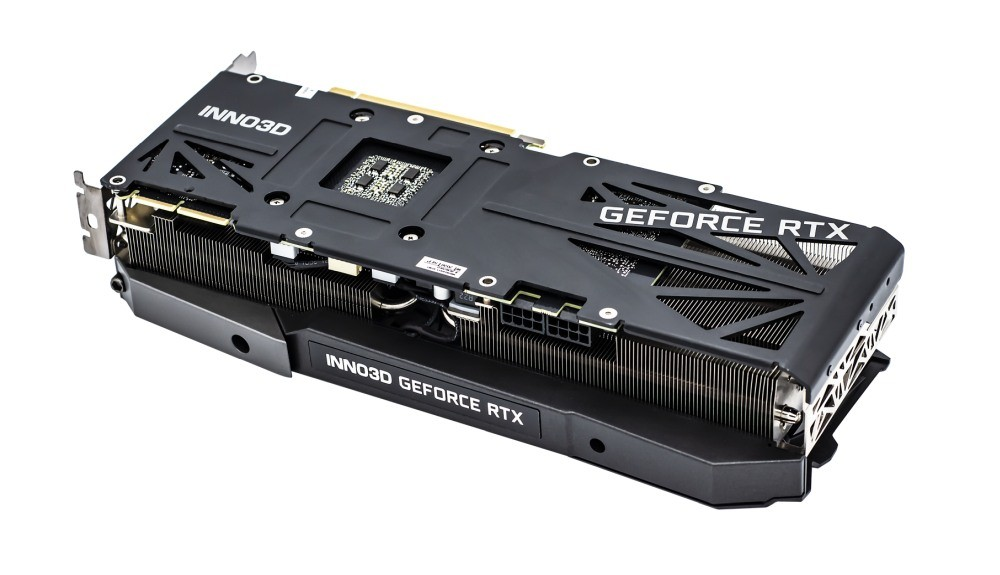 Backplate karty Inno3D RTX 3090