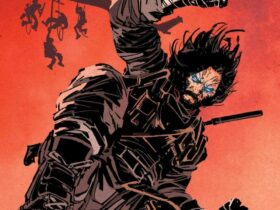 Kadr z komiksu BRZRKR