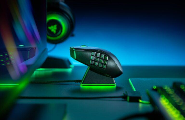 Sprzęt firmy Razer - myszka, headset