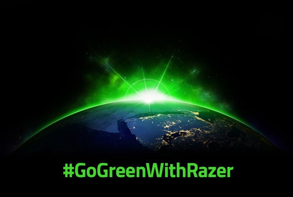 Grafika promocyjna kampanii #GoGreenWithRazer
