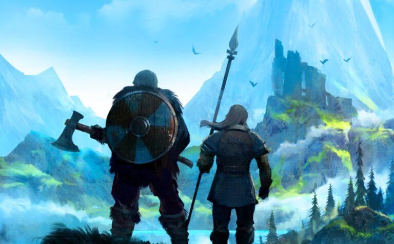 Wikingowie z gry Valheim