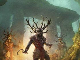 grafika promocyjna dodatku do AC: Valhalla - Wrath of the Druids