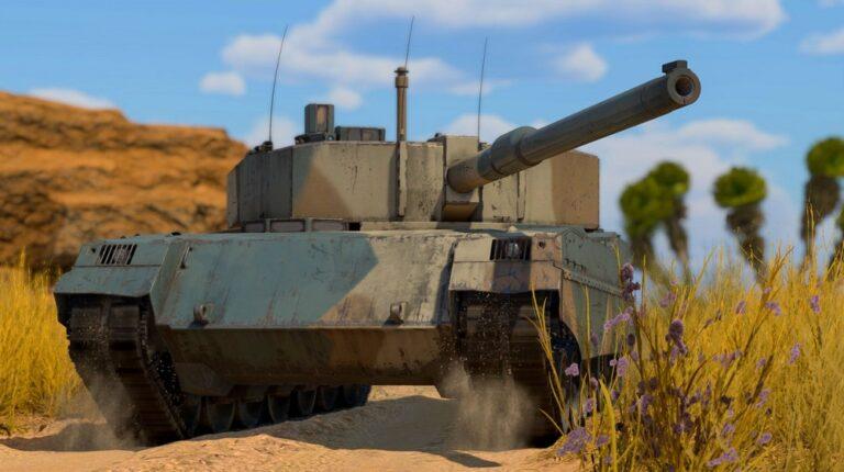 Czołg TTD z War Thunder