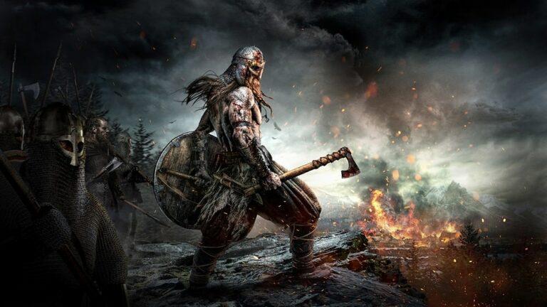 Grafika okładkowa z gry Ancestors Legacy