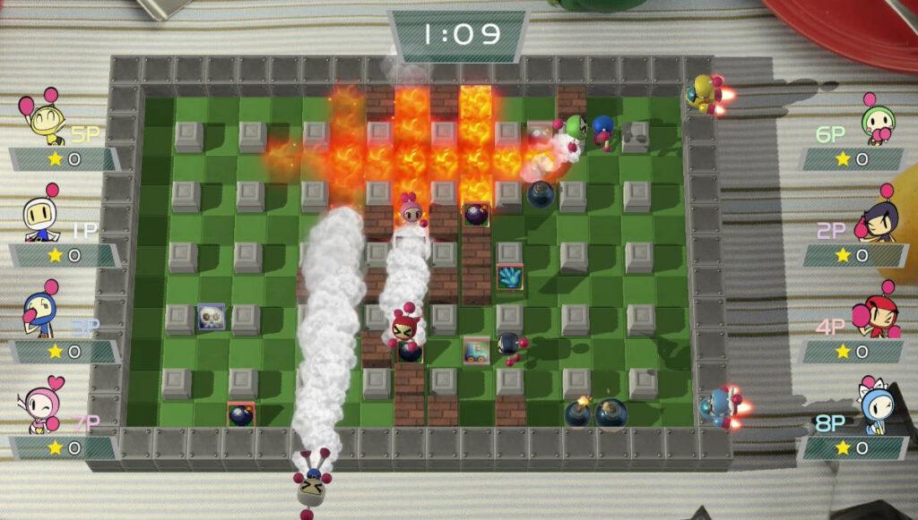 Screenshot z gry Super Bomberman R