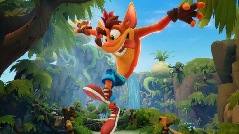 Bohater gry Crash Bandicoot