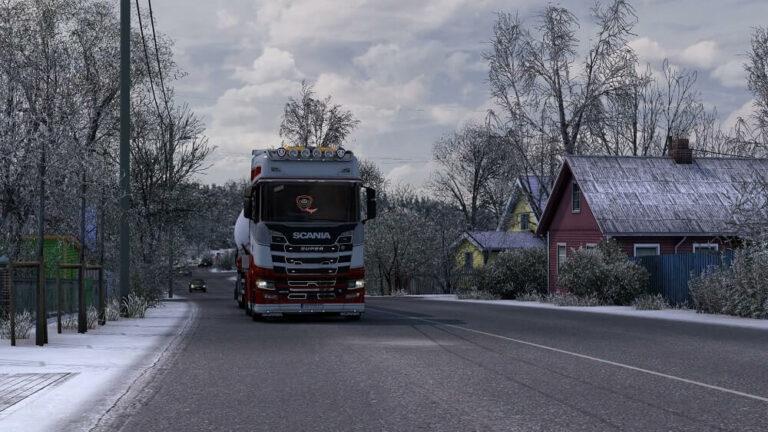 Kadr z gry Euro Truck Simulator 2