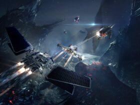 Grafika promocyjna z gry EVE Online