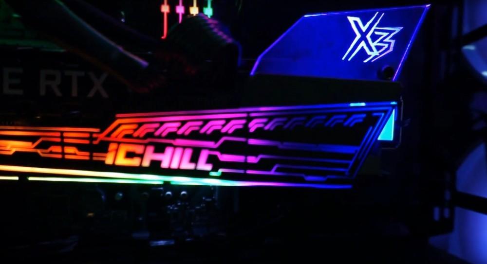 Podświetlenie karty Inno3D iChill X3