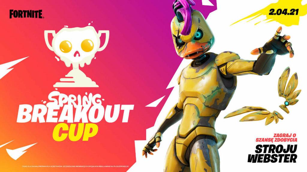 Fortnite Spring Breakout - reklama turnieju