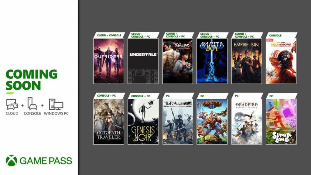 Undertale, Star Wars: Squadron i NieR: Automata – masa nowych hitów w Xbox Game Pass