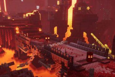 Nether w Minecraft Dungoens