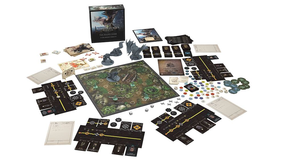 Monster Hunter World: The Board Game - plansza i zawartość gry