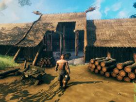 Postać wikinga w Valheim