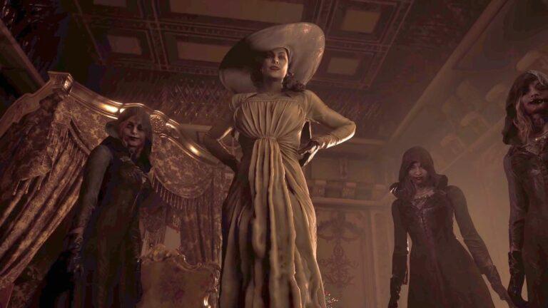 Lady Dimitrescu z Resident Evil Village